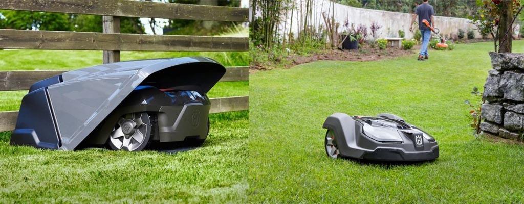 робот-газонокосарка