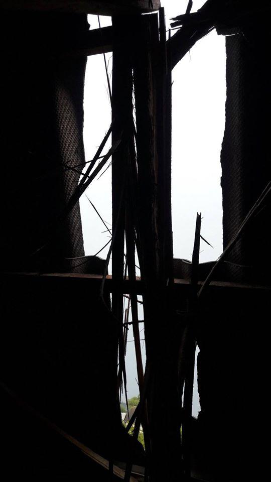 У Ямниці загорівся будинок від удару блискавки 4