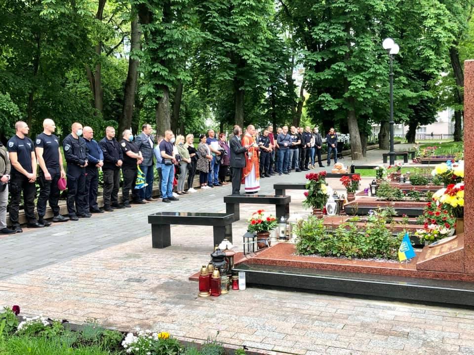 У Франківську вшанували пам'ять Михайла Шемегінського, який загинув на війні шість років тому 1