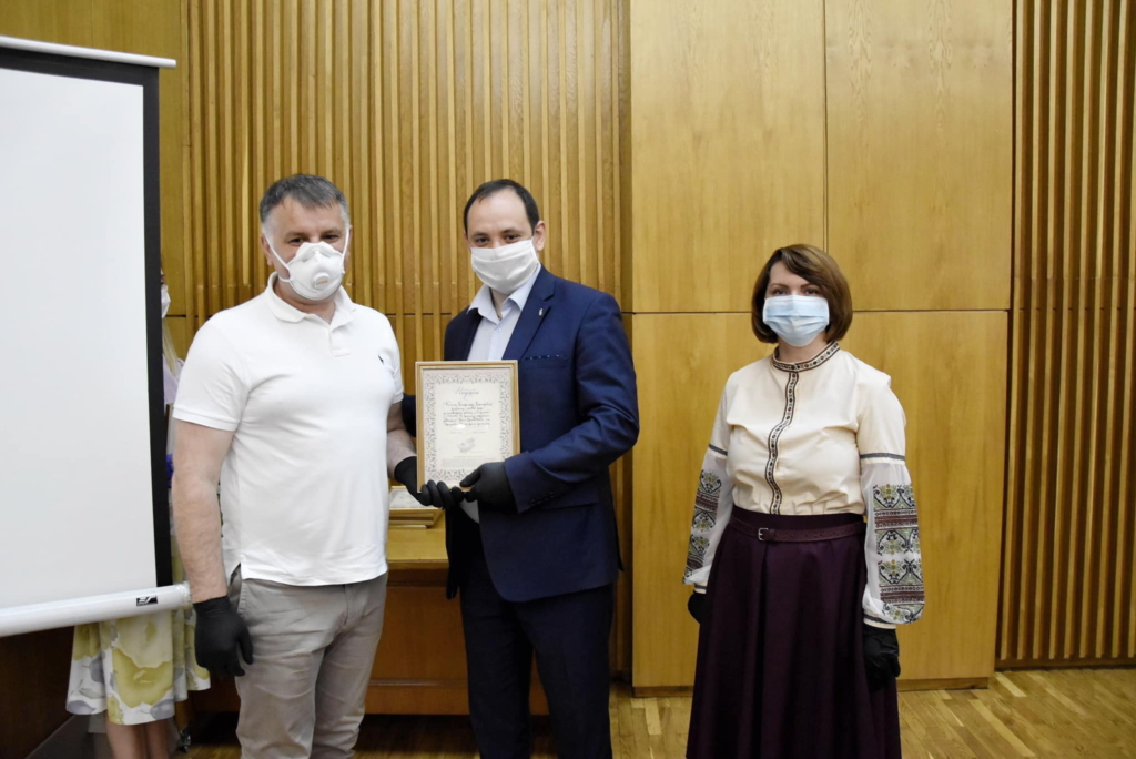 Марціків нагородив депутатів Європейської солідарності