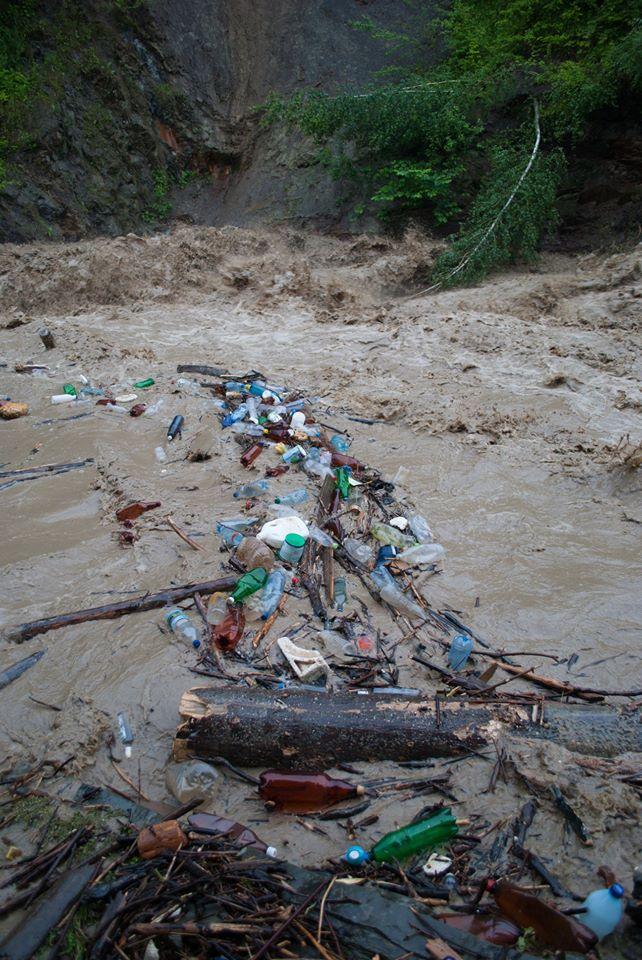 Затоплені дороги, зруйновані кладки, сміття: Черемош вийшов з берегів 3