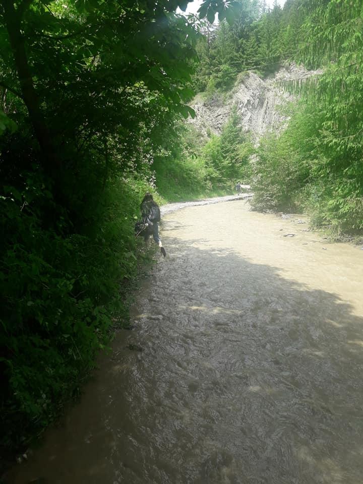 На дорогах Прикарпаття через зливи сталися зсуви - відрізали 4 села 12