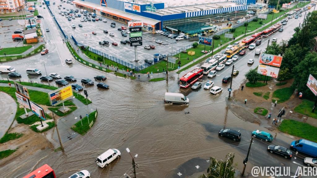 5 проблемних місць Франківська: де й чому топить місто в дощ 1