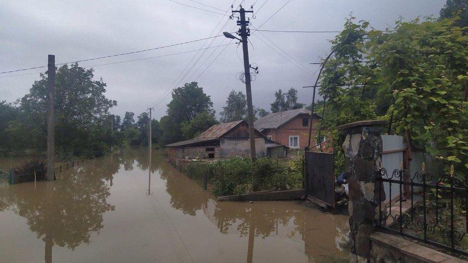 Троє людей відмовилися покинути свої затоплені будинки в Маріямполі над Дністром 1