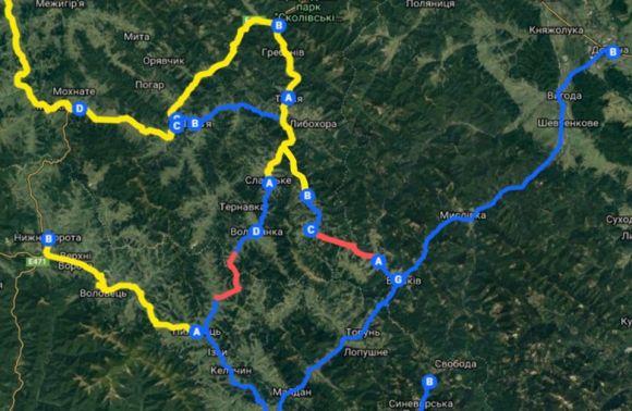 """""""Мале Карпатське коло"""": на Франківщині побудують і відремонтують 100 км туристичних доріг 4"""