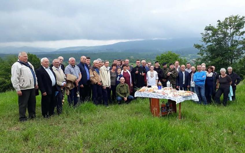 На Коломийщині вшанували пам'ять повстанців, які загинули в 1952-му від рук місцевого зрадника 1