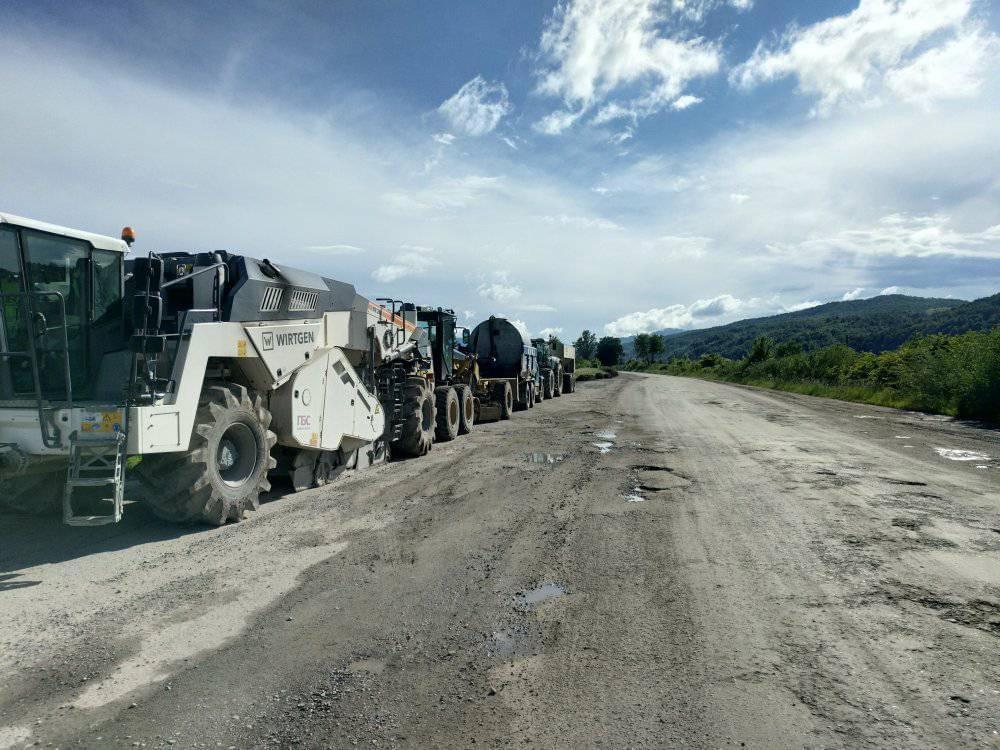 У Пасічнянській ОТГ почали ремонт дороги