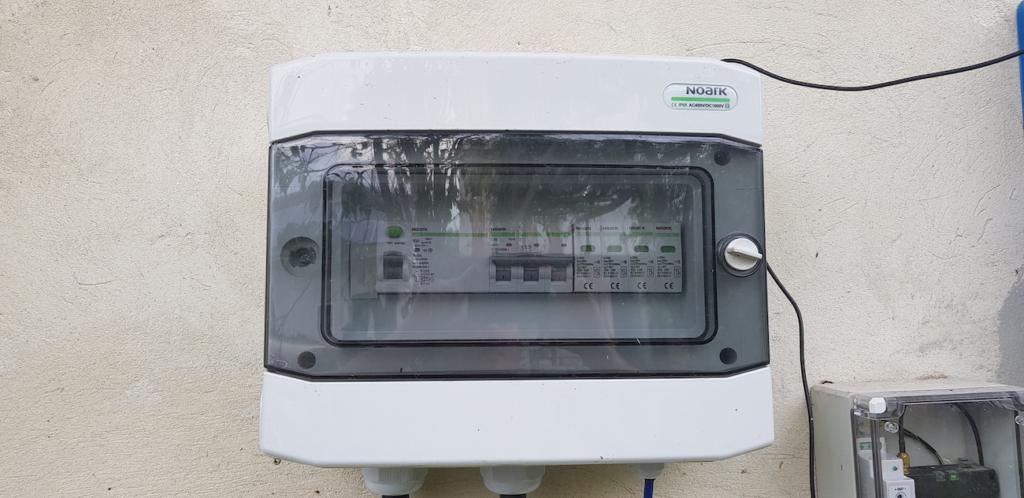 Сонячну електростанцію для дому потужністю 26 кВт встановлено у Вікторові 4