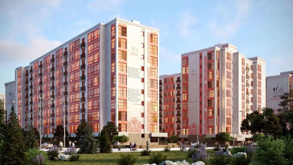 БК Вертикаль містечко козацьке Франківськ
