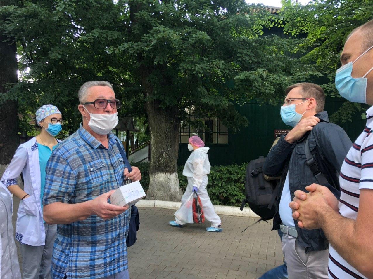 У 40% працівників обласної інфекційної виявили антитіла до Covid-19, – заступник гендиректора лікарні 2