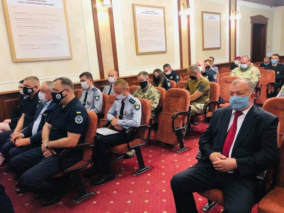 Поліцейські Прикарпаття відзначили п'яту річницю з дня створення 2