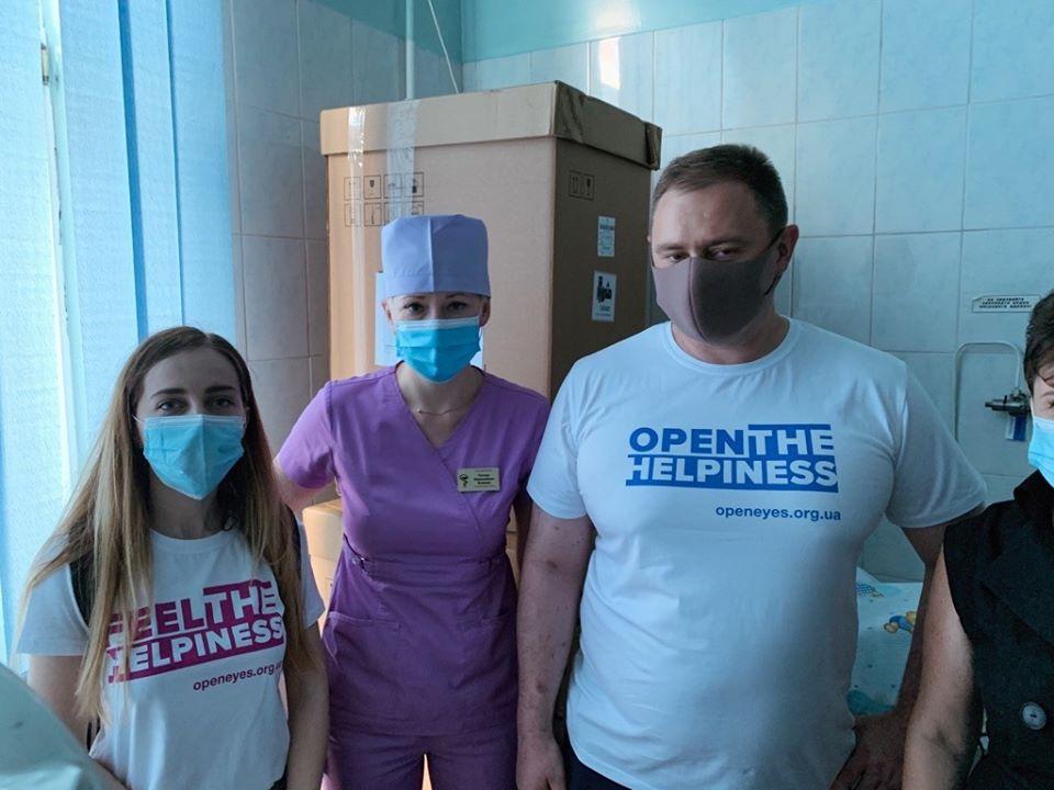 Компанія SoftServe, яка є учасником Івано-Франківського ІТ кластеру, передала в міську дитячу клінічну лікарню апарат ШВЛ