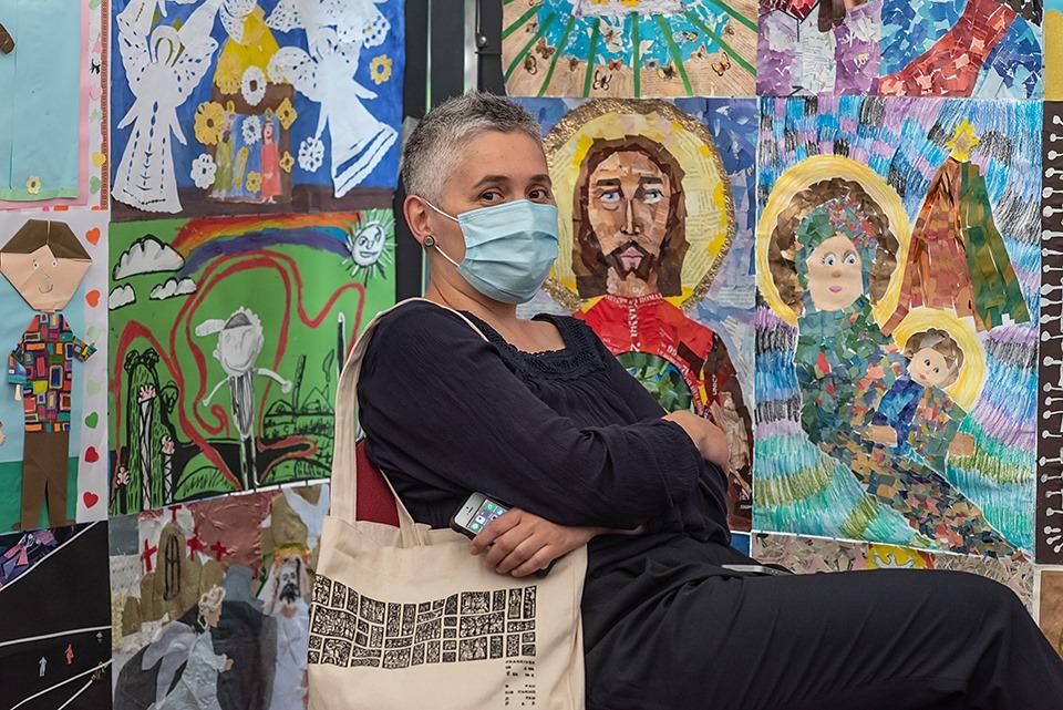 """У франківському Палаці Потоцьких відкрили виставку робіт-переможців """"Для Бога-2020"""" 3"""