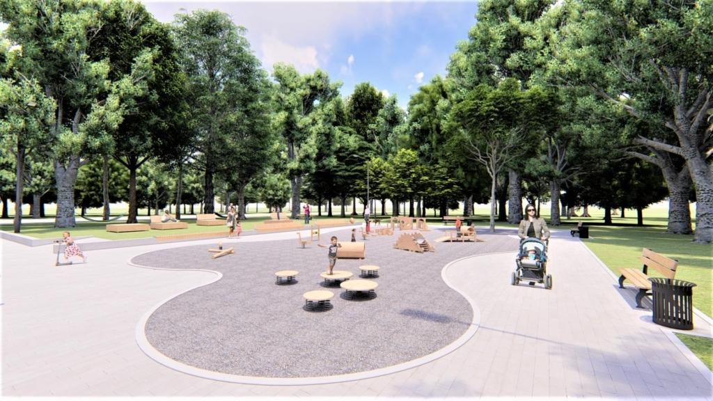 У парку Франківська хочуть влаштувати дитячий простір для найменших 3