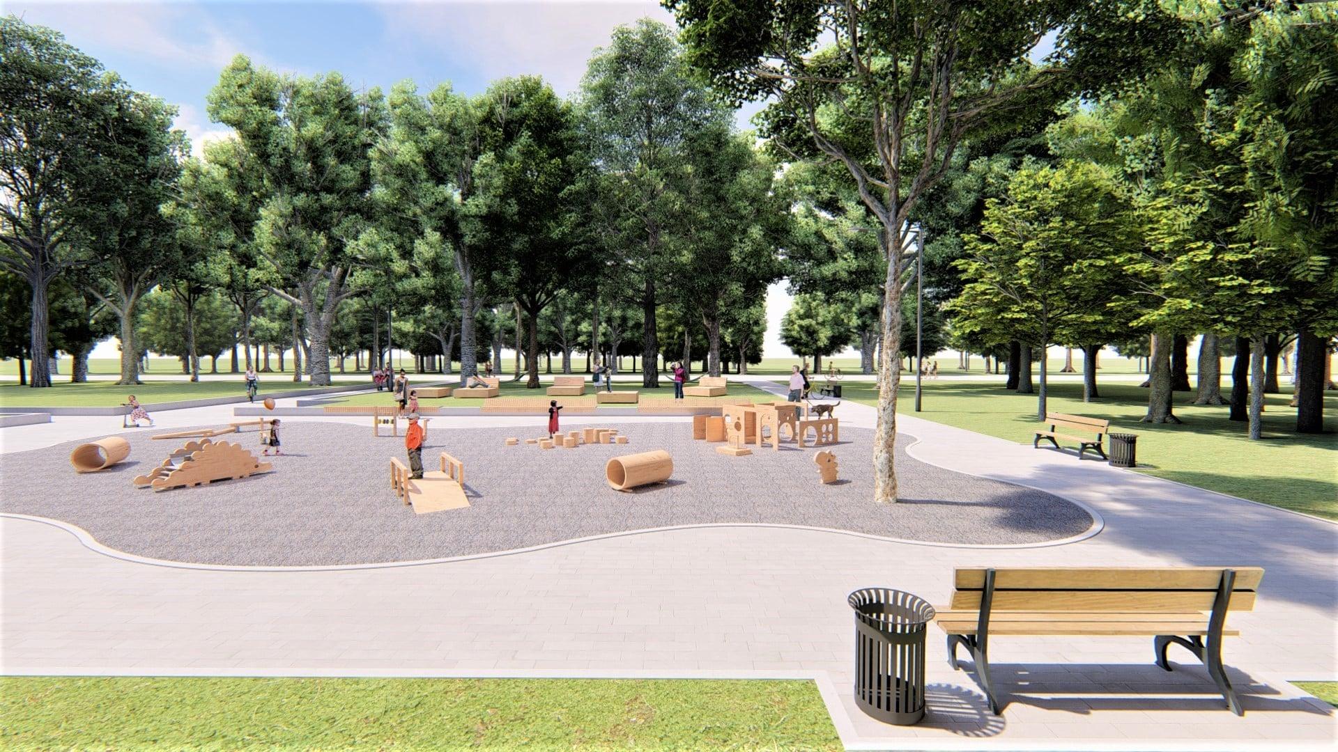 У парку Франківська хочуть влаштувати дитячий простір для найменших 8