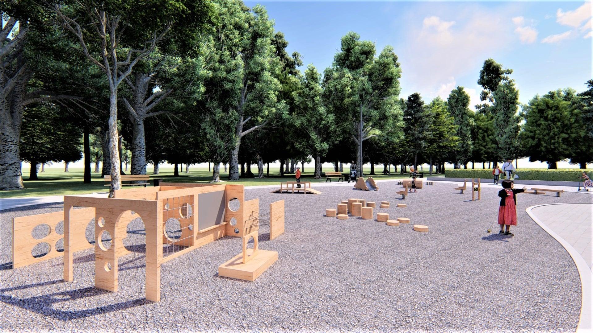 У парку Франківська хочуть влаштувати дитячий простір для найменших 14