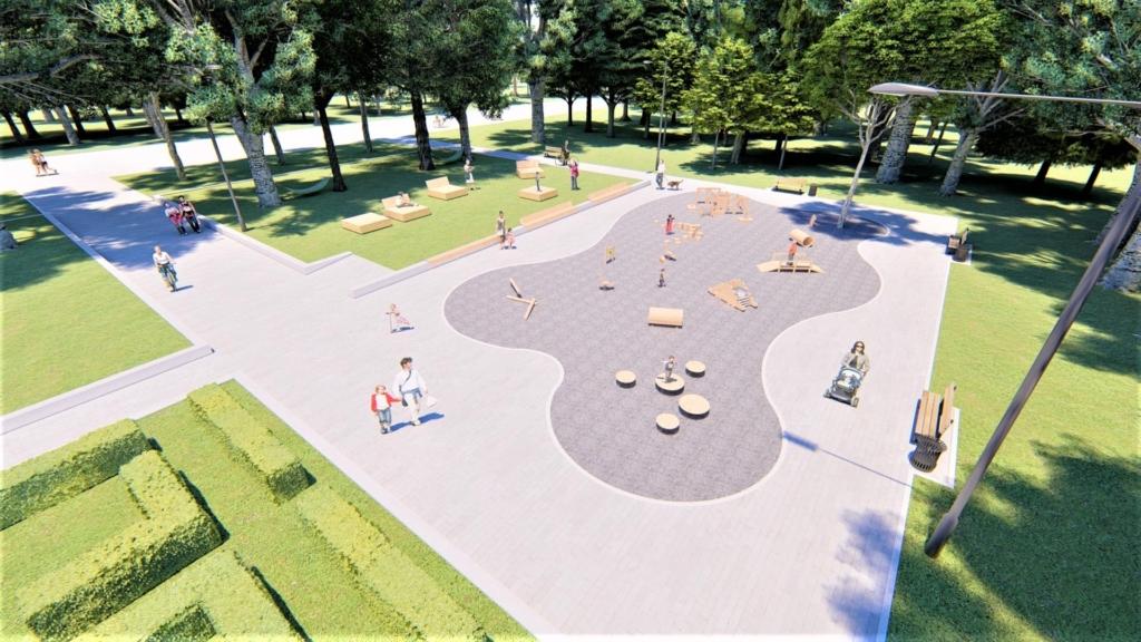 У парку Франківська хочуть влаштувати дитячий простір для найменших 2