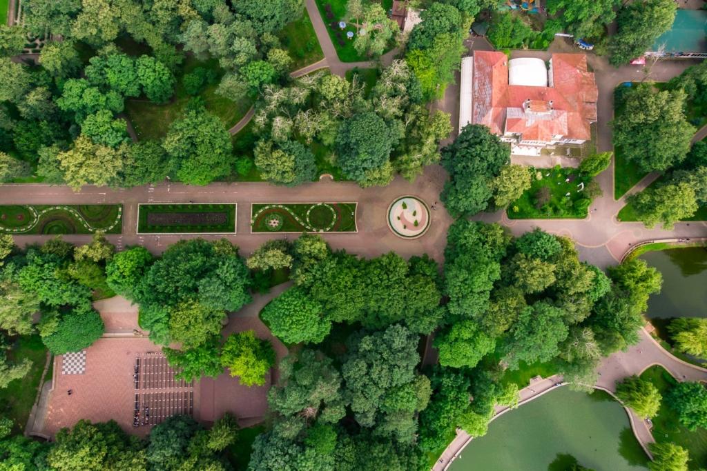 Франківська оаза: міський парк з висоти птахів 4
