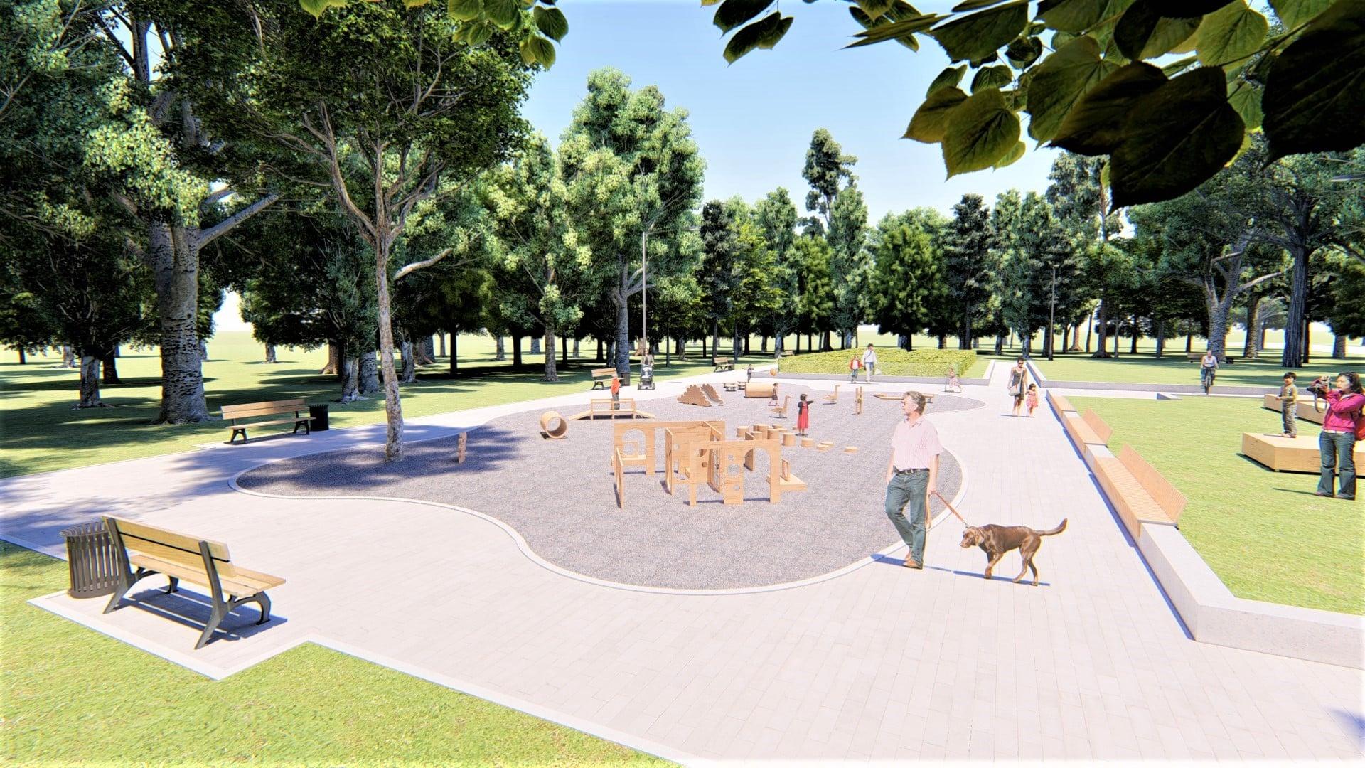 У парку Франківська хочуть влаштувати дитячий простір для найменших 16