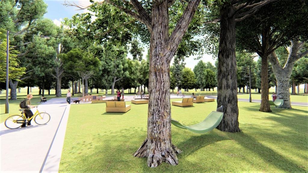 У парку Франківська хочуть влаштувати дитячий простір для найменших 9