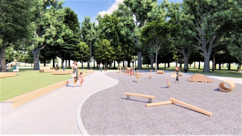 У парку Франківська хочуть влаштувати дитячий простір для найменших 12