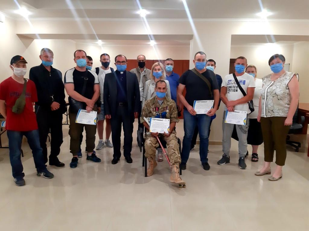 30 учасників АТО отримали допомогу від франківського Карітасу 1