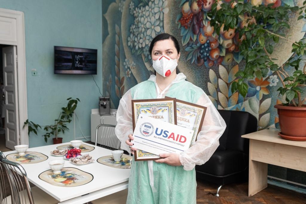 В обласному легеневому центрі відкрили першу кімнату відпочинку для медиків 4