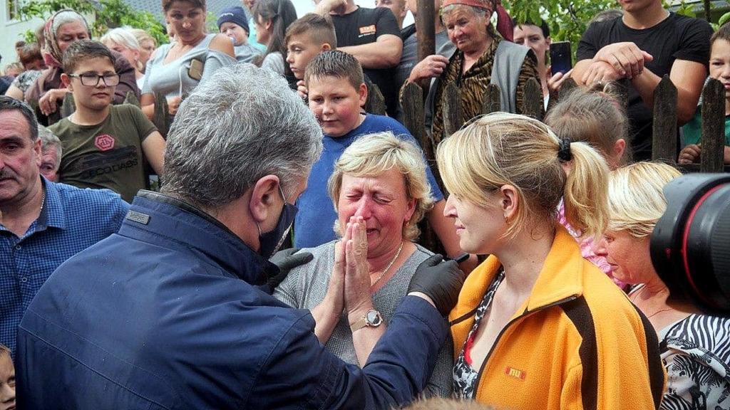 Петро Порошенко на Прикарпатті