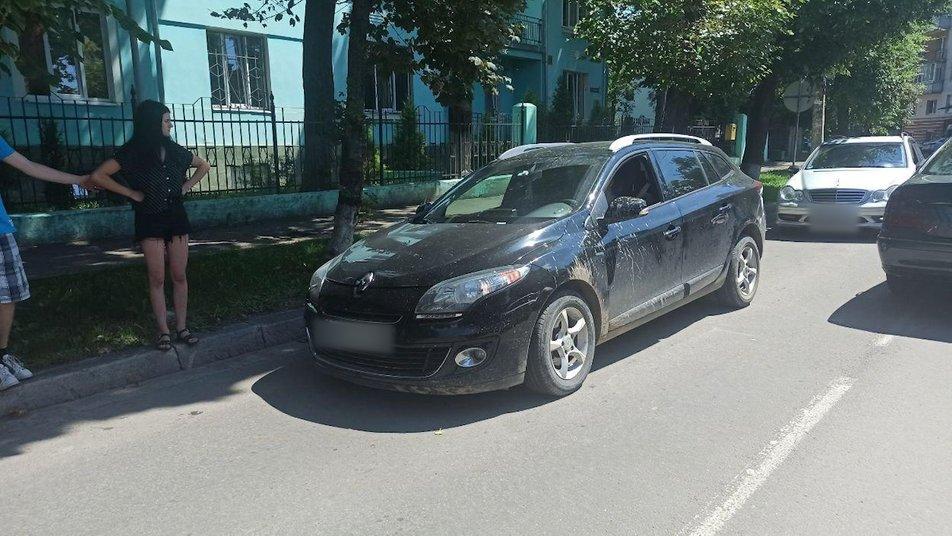 У Франківську затримали п'яного водія - в машині була 4-річна донька 2