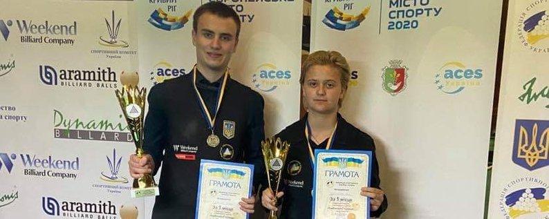 15-річна франківчанка стала чемпіонкою України та майстринею спорту зі спортивного більярду 2