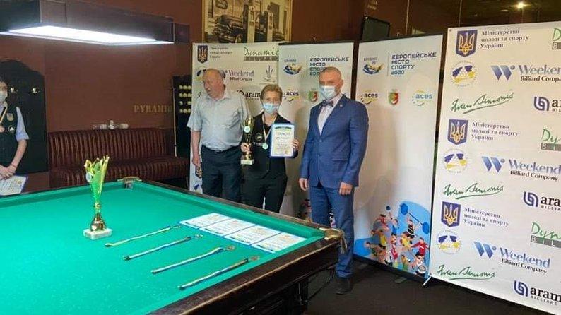 15-річна франківчанка стала чемпіонкою України та майстринею спорту зі спортивного більярду 4