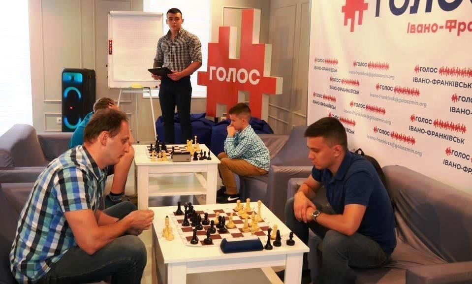 """Молодіжка """"Голосу"""" провела у Франківську шаховий турнір 2"""