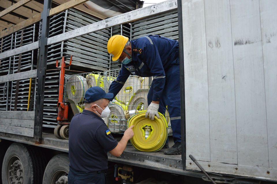 Прикарпаття отримало гуманітарну допомогу від Королівства Швеції 1