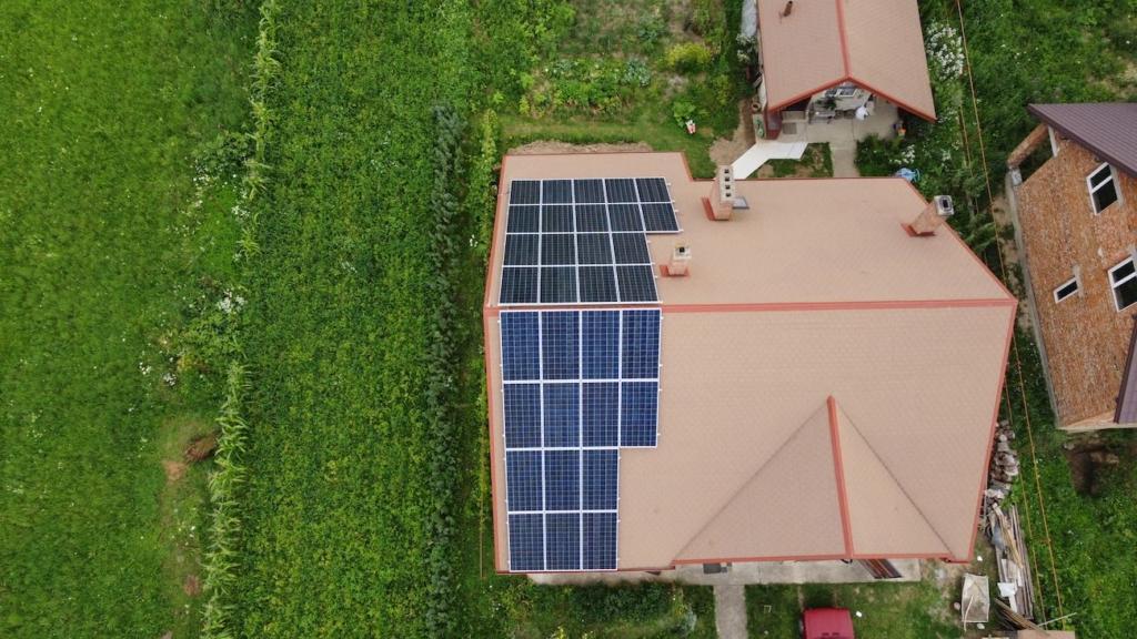 Сонячна електростанція від компанії Еко Енергія