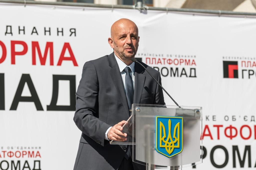 """Тарас Виноградник - кандидат від """"Платформи громад"""""""
