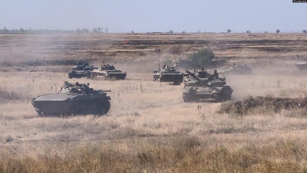 Україна з НАТО проводить військові навчання - полігон Ширлан