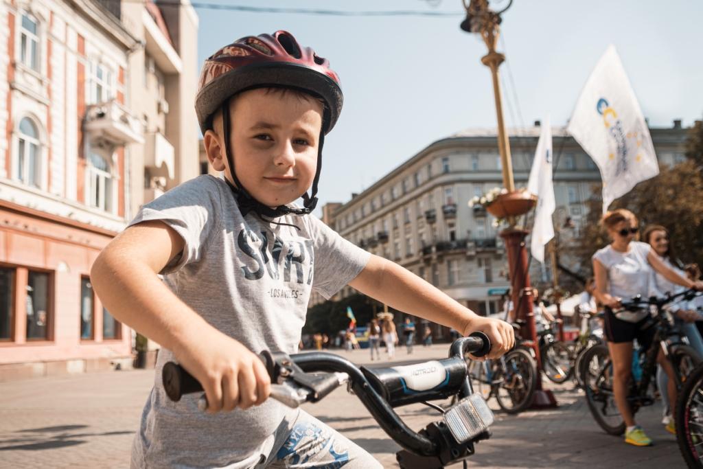 велопробіг у Франківську