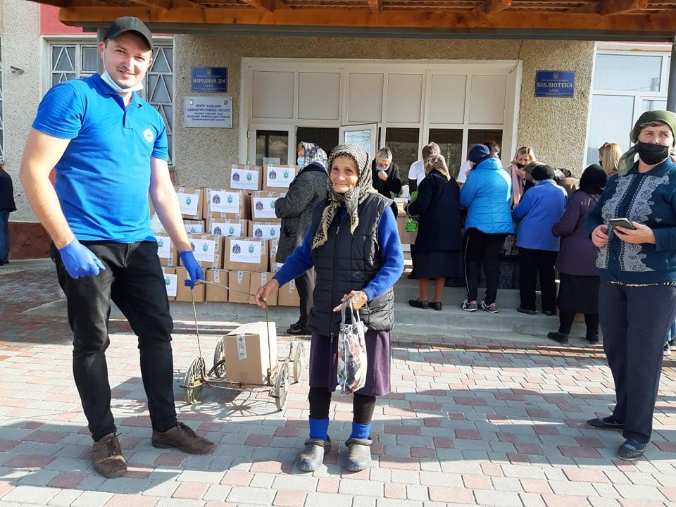 Карітас передав 267 продуктових наборів мешканцям Спаської ОТГ, які втратили врожай через повінь 4