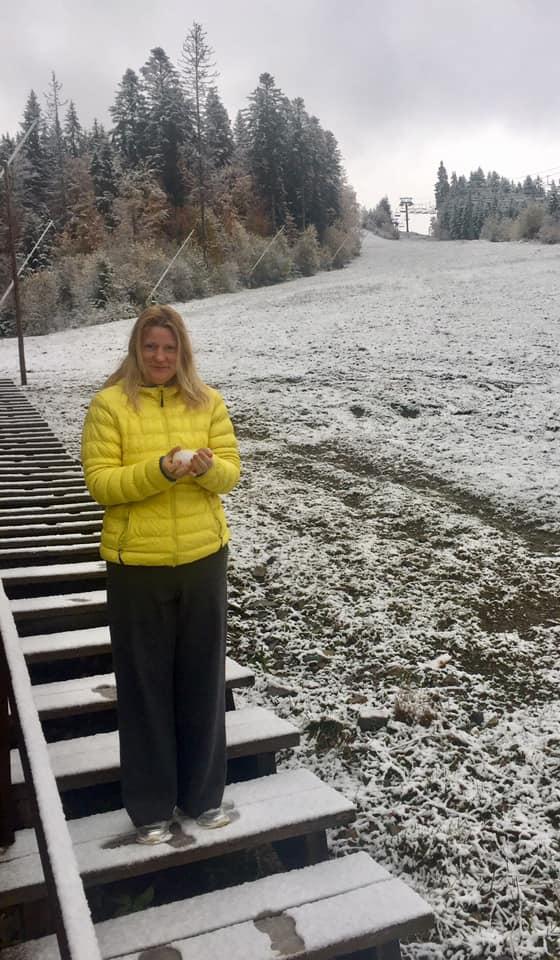 На Прикарпатті випав сніг. ФОТО, ВІДЕО 3