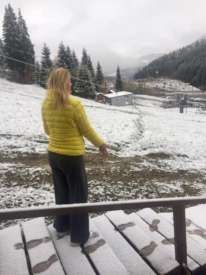 На Прикарпатті випав сніг. ФОТО, ВІДЕО 4
