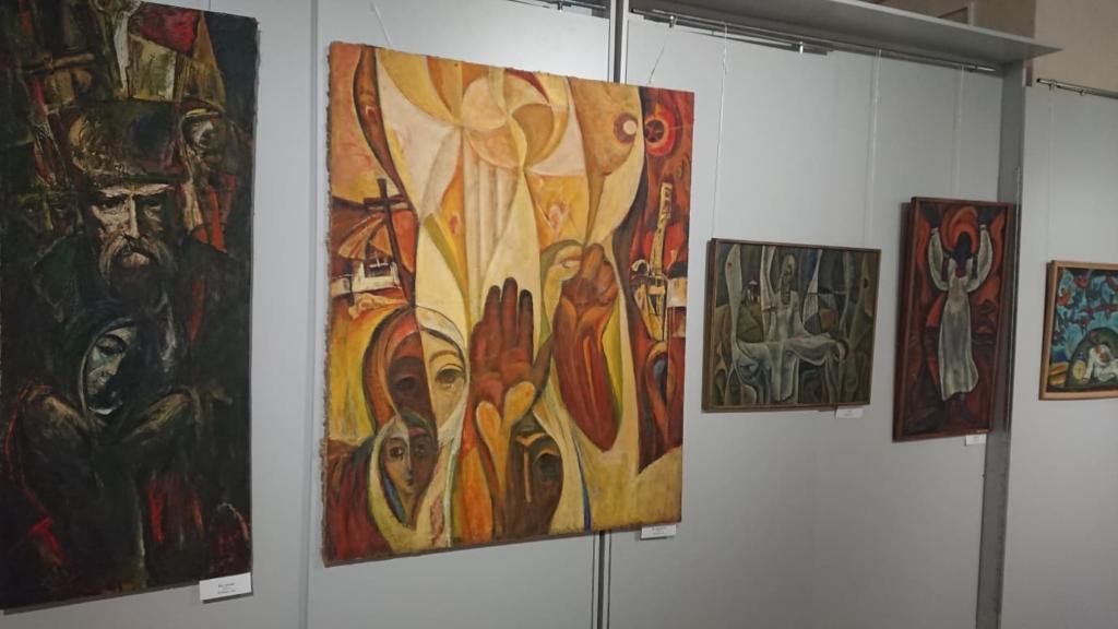 У Франківську відкрили виставку Опанаса Заливахи до 95-ліття художника 2