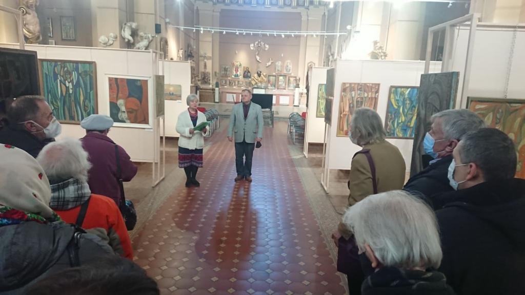 У Франківську відкрили виставку Опанаса Заливахи до 95-ліття художника 3