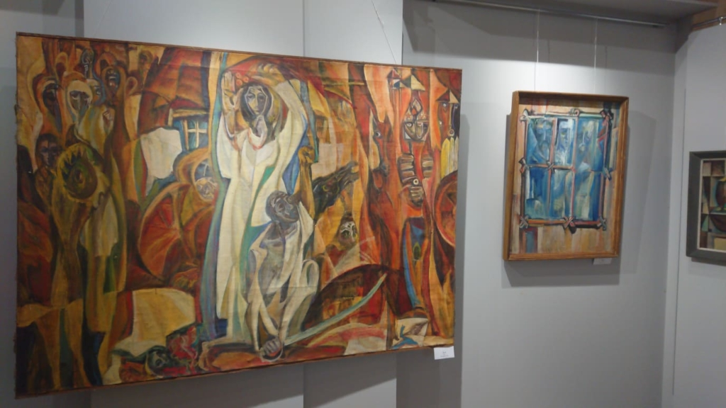 У Франківську відкрили виставку Опанаса Заливахи до 95-ліття художника 5