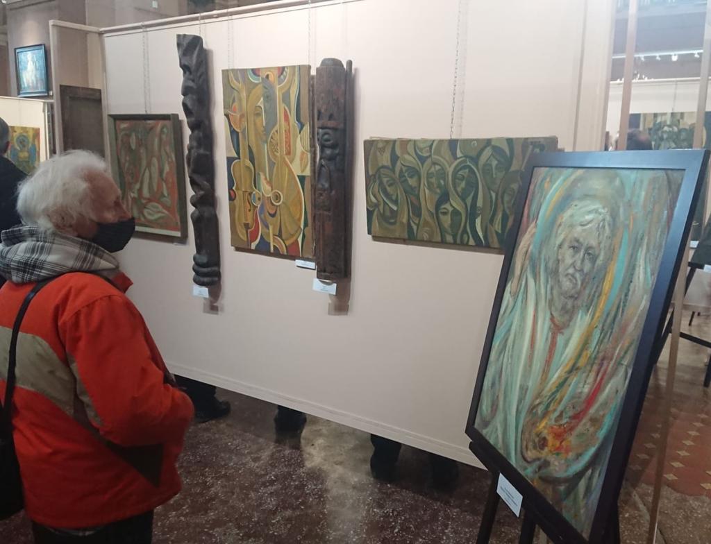 У Франківську відкрили виставку Опанаса Заливахи до 95-ліття художника 1