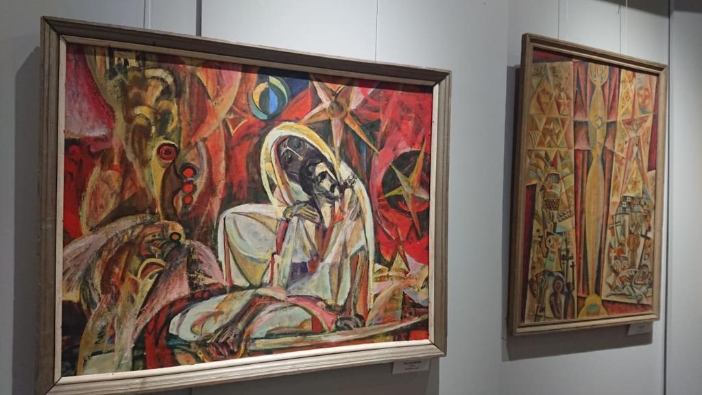 У Франківську відкрили виставку Опанаса Заливахи до 95-ліття художника 7