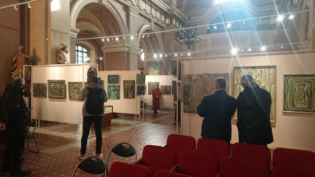 У Франківську відкрили виставку Опанаса Заливахи до 95-ліття художника 4