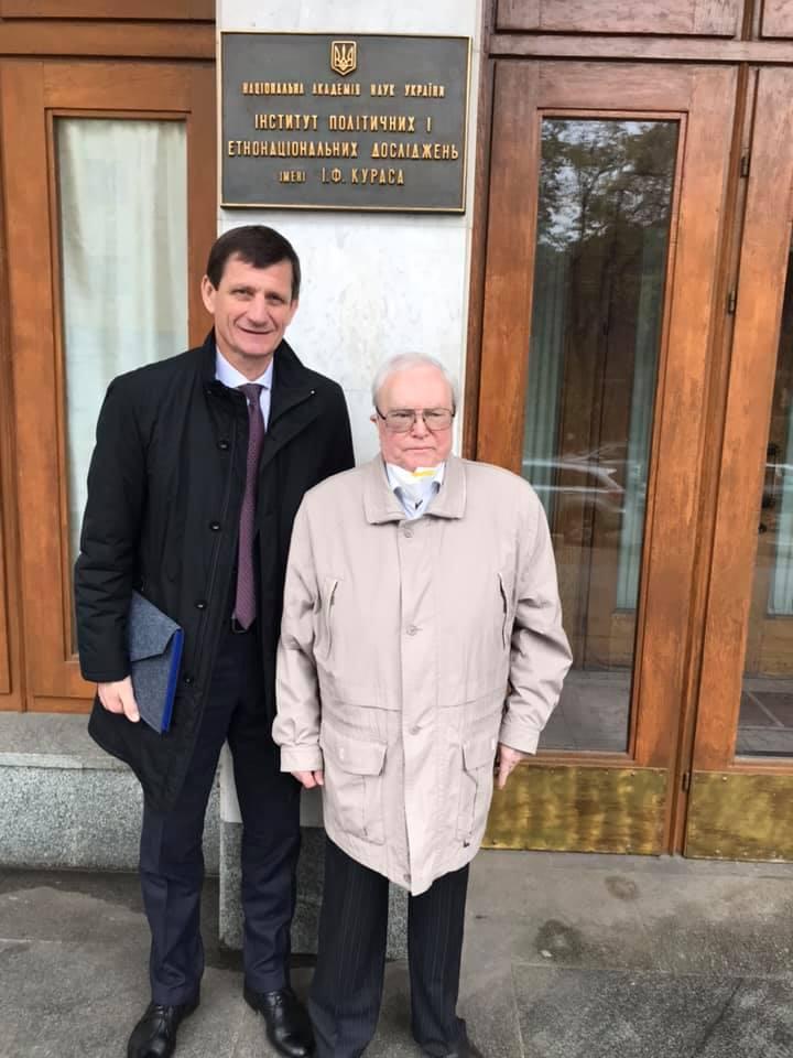 Олександр Сич став доктором політичних наук 1