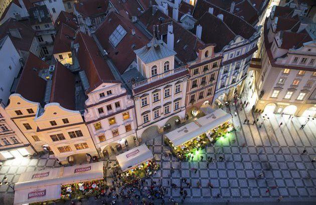міська площа в Європі