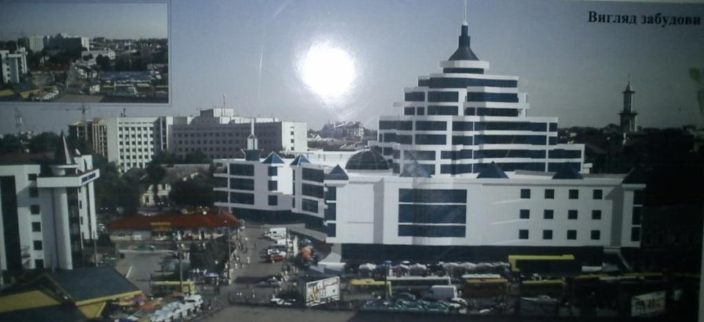 проєкт торгового центру Тринітарська площа