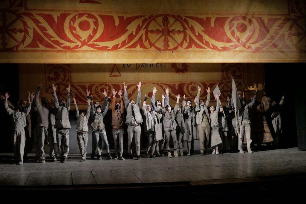 """У Франківському драмтеатрі осучаснили трагедію Софокла """"Цар Едіп"""""""